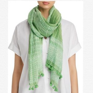 Eileen Fisher Organic Semi Sheer Cotton Silk Scarf
